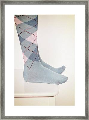 Burlington Socks Framed Print