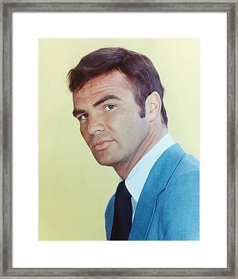 Burt Reynolds In Dan August  Framed Print