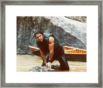 Burt Reynolds In Deliverance  Framed Print by Silver Screen
