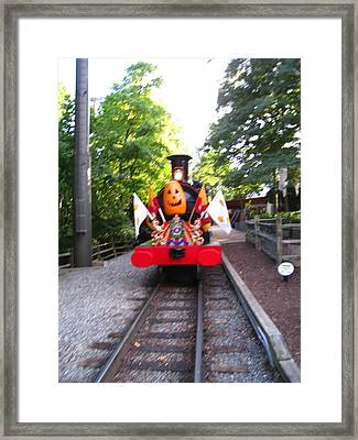 Busch Gardens - 121213 Framed Print by DC Photographer