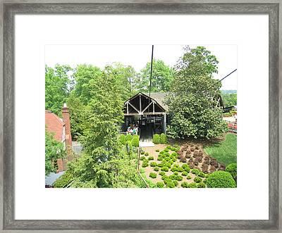 Busch Gardens - 121225 Framed Print by DC Photographer