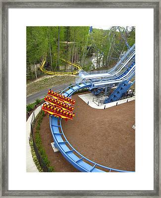 Busch Gardens - 12124 Framed Print by DC Photographer
