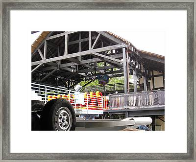 Busch Gardens - 12127 Framed Print by DC Photographer