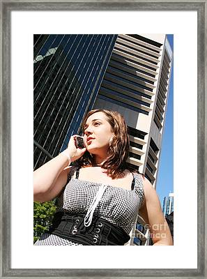Business Confidence Framed Print by Jorgo Photography - Wall Art Gallery