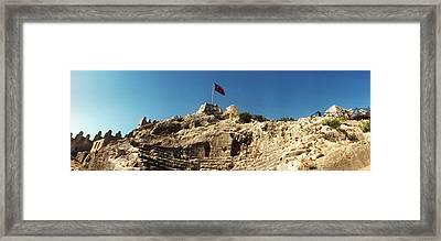 Byzantine Castle Of Kalekoy Framed Print