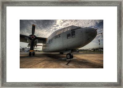 C-119 Flying Boxcar Framed Print
