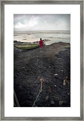 Sea Shore Ayetoro Framed Print