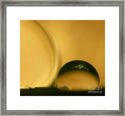 C Ribet Orbscape 0182ca Framed Print by C Ribet