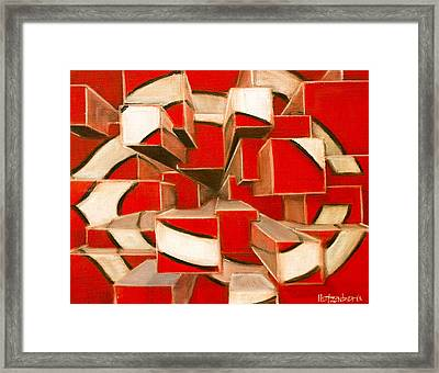 C-squared Framed Print