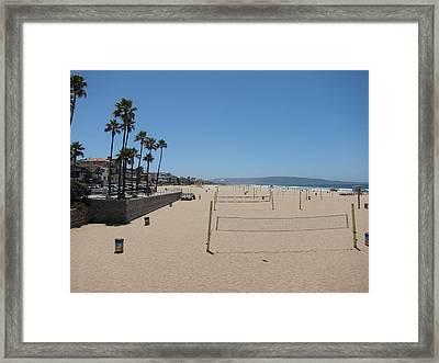 Ca Beach - 12121 Framed Print by DC Photographer