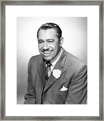Cab Calloway (1907-1994) Framed Print by Granger