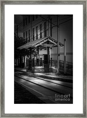 Cadrecha Plaza Station Framed Print