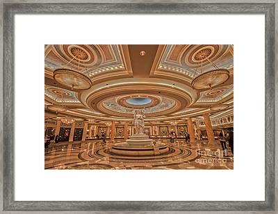 Caesars Palace Las Vegas Framed Print