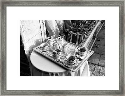 Cafe Essentials Framed Print