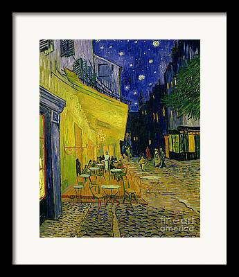 Cafe Terrace Framed Prints