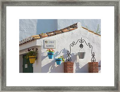 Cala De Mijas, Costa Del Sol, Spain Framed Print by Ken Welsh