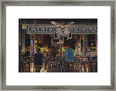 Calico Jacks Framed Print by Dave Byrne