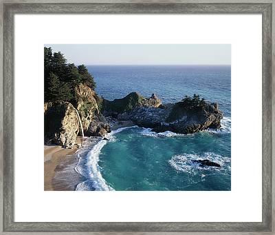 California, Big Sur Coast, Central Framed Print by Christopher Talbot Frank