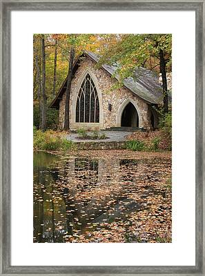 Framed Print featuring the photograph Callaway Gardens Chapel-pine Mountain Georgia by Mountains to the Sea Photo