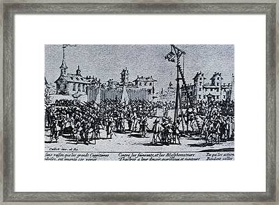 Callot, Jacques 1592-1635. The Great Framed Print
