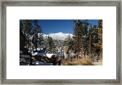 Calm After The Storm Framed Print by Michael J Bauer