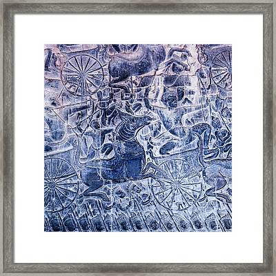 Cambodia, Angkor Wat Framed Print by Charles O. Cecil