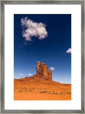 Camel Butte Framed Print