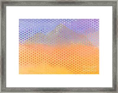 Camelback Framed Print