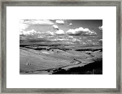 Country Of Tarquinia Framed Print