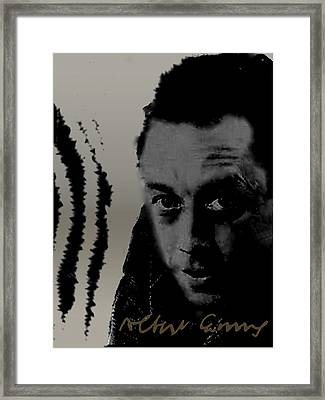 Camus Framed Print by Asok Mukhopadhyay