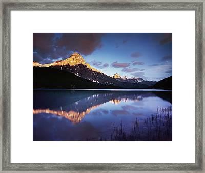 Canada, Alberta, Banff National Park Framed Print by Christopher Talbot Frank