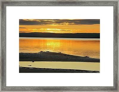 Canada, Alberta, Lesser Slave Lake Framed Print