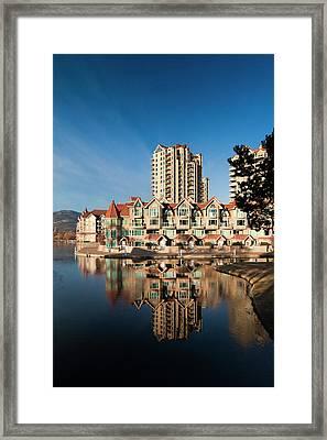Canada, British Columbia, Okanagan Framed Print by Walter Bibikow