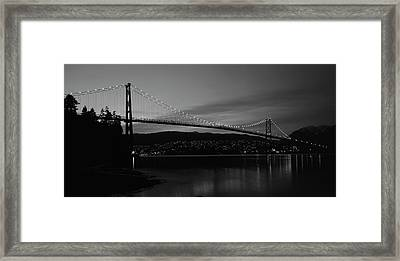 Canada, British Columbia, Vancouver Framed Print