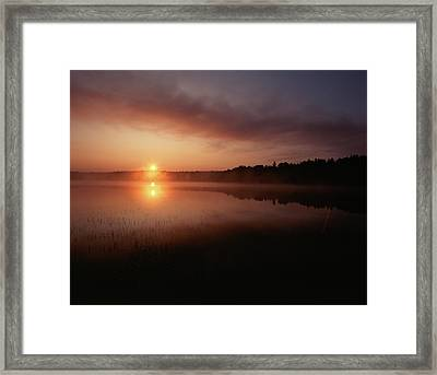 Canada, Ontario, Sudbury, Tilton Lake Framed Print