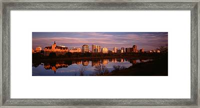 Canada, Saskatchewan, Saskatoon Framed Print by Panoramic Images