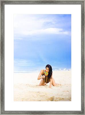 Candy Bliss Framed Print by Jorgo Photography - Wall Art Gallery