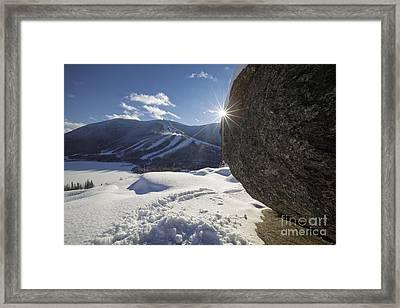 Cannon Mountain - White Mountains New Hampshire Framed Print