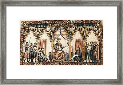 Cantigas De Santa Maria Virgin Mary Framed Print
