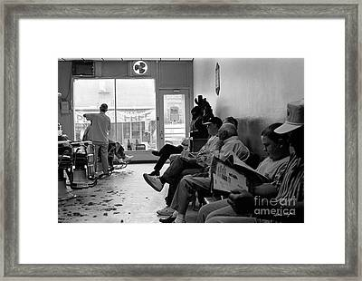 Canton Barber Shop 1997 Framed Print