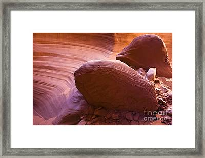 Canyon Rocks Framed Print by Bryan Keil