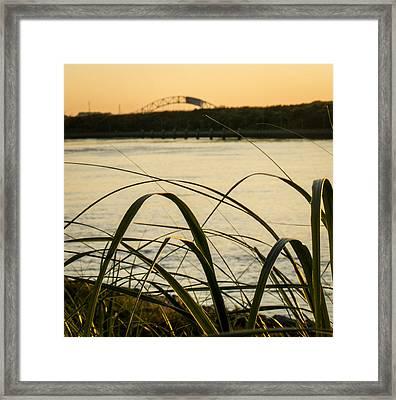 Cape Cod Canal  Framed Print