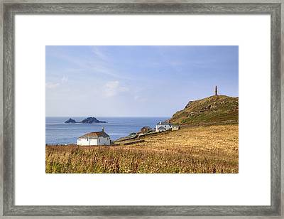 Cape Cornwall Framed Print by Joana Kruse