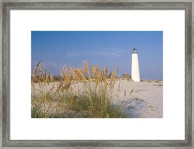 Cape St. George Lighthouse, Fl Framed Print