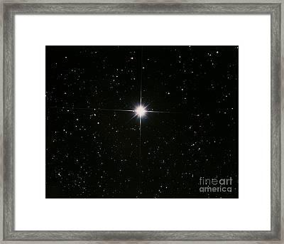 Capella Framed Print