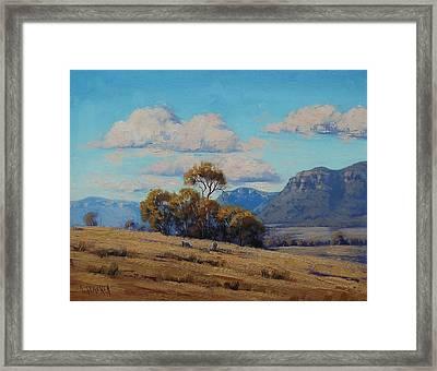 Capertee Valley Australia Framed Print by Graham Gercken