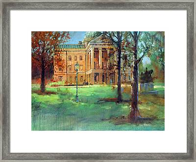 Capitol Gold 2 Framed Print