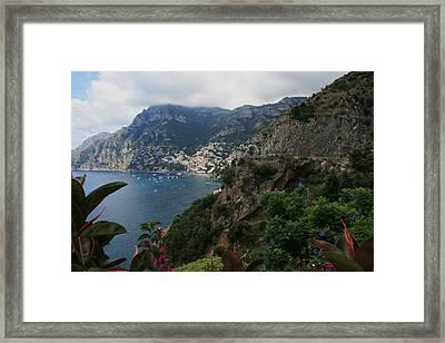 Capri Island Italy Framed Print