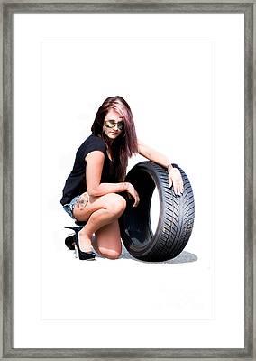 Car Race Framed Print by Jorgo Photography - Wall Art Gallery