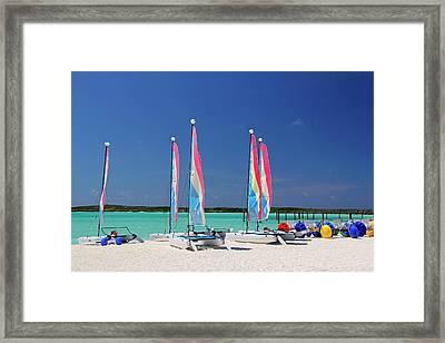 Caribbean, Bahamas, Castaway Cay Framed Print by Kymri Wilt
